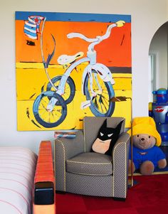 Children's Rooms - Boys Room 4 - Suzanne Lovell Inc.