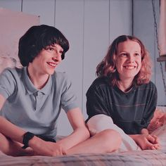 Mike and Eleven. Stranger Things Kids, Stranger Things Aesthetic, Stranger Things Netflix, Stranger Things Season, Stranger Danger, Don T Lie, Bobby Brown, Best Tv Shows, Cute Couples