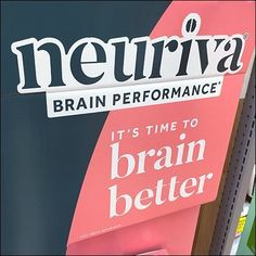 Neuriva Time-To-Brain-Better Teaser – Fixtures Close Up Point Of Purchase, Compare And Contrast, Display Design, Teaser, Hooks, Brain, Retail, Pink, Color