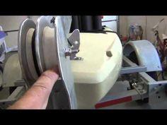 Homemade fixed, retractable kayak rudder (Skeg) Part 1 - YouTube