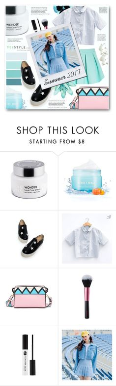 """""""Summer 2017"""" by tux-vij ❤ liked on Polyvore featuring JY Shoes, chuu and ASOS"""