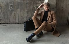 Exclusive: Ole Stirnberg Dons a Luxe Hermès Wardrobe