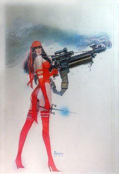 The Art of Bill Sienkiewicz - Elektra