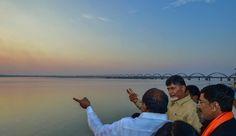 CM Chandrababu naidu reviewed the Godavari pushkaram arrangements http://godavaripushkaram2015.blogspot.in/p/cm.html