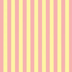 FREE Digital Scrapbook Paper - Pink and Yellow Stripes