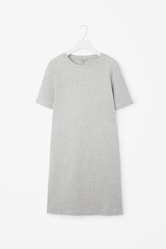 COS   Straight rib dress