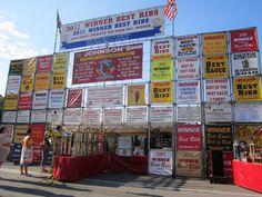 Ribfest. Lincoln, Nebraska