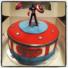 Captain America by MyCakes