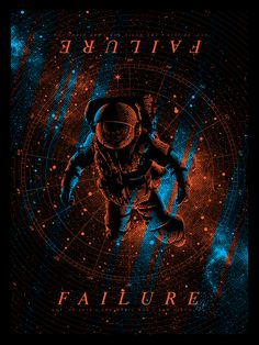 Failure 2016 Tour PosterHad the pleasure of designing my first gigposter for Failure's San Diego show on their 2016 tour. It was an honor to be asked to participate in this suite of posters, curated by TimDoyle and printed by Nakatomi, Inc.You can pi…