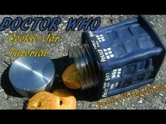 doctor who dr who polymer clay cookie jar tutorial
