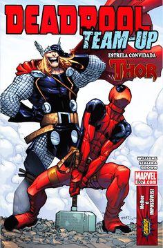 Capa de Deadpool TeamUp 887