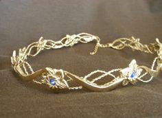 Eowyn Headdress Circlet LOTR Crown Bridal. $98.00, via Etsy.