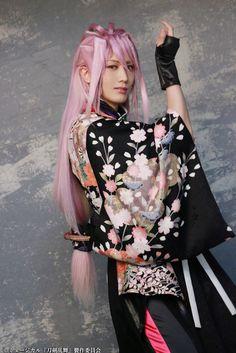 Touken Ranbu, Sword, Harajuku, Musicals, Kimono Top, Stage, Kawaii, Anime, Women