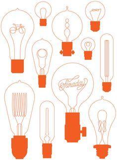 hanging light bulb drawing - Google Search