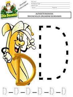 ALFABETIZAÇÃO : Alfabeto Banana