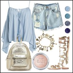 Summer Looks, Fashion Outfits, Image, Summer Fashions, Summer Outfits, Summer Clothes, Fashion Sets, Summer Styles, Trendy Outfits
