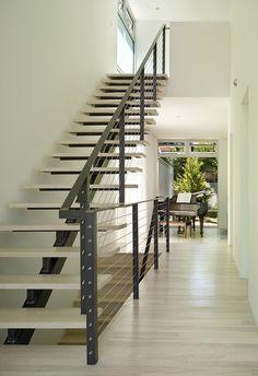 Modern stair Seattle.