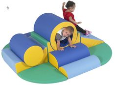 CF321-301 Childrens Factory Toddler Tumble n Roll Classroom Furniture
