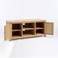 Lansdown Solid Oak TV Unit - - TV Unit - Ametis - Space & Shape - 2