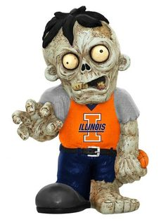 Illinois  Zombie Figurines
