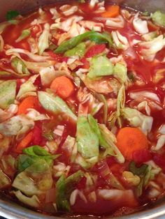 Meatless Monday - Fatburning and Detoxing Cabbage Soup