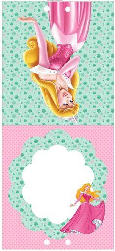 Kit Festa Princesa Aurora Para Imprimir (Grátis)