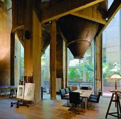 Ricardo Bofill Studio, Barcellona, an ex-cement factory • Project: Ricardo Bofil