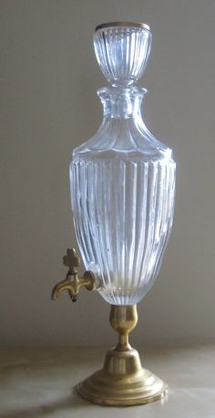 Vintage French Absinthe Fountain / Whiskey / by BoudoirOfParis, $70.00