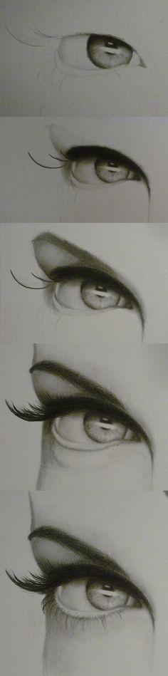 DIY Face Masks  : Eye Progression by lovedolphins10409 on deviantART
