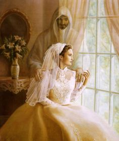He is my beloved and I am his. When the bridegroom calls the bride must be ready.