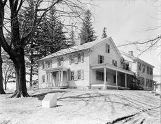 The house where Moby-Dick was written: In 1850, Melville moved in - Arrowhead, Pittsfield, Massachusetts.