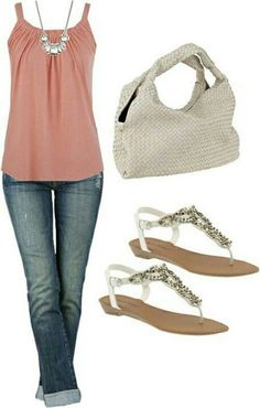 Cute evening outfit!