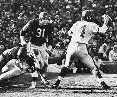 1963 NFL Championship Game. Giants at Bears.