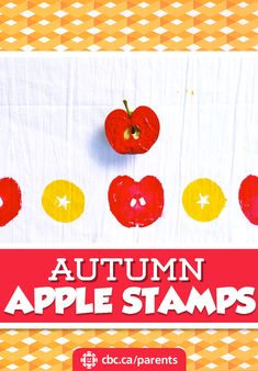 A fun and easy way to craft with apples this fall!