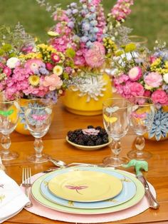 Table setting, Easter