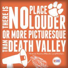#Clemson Death Valley