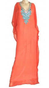 This is similar to the abaya that Chris Kardashian wore on her camel ride. SO pretty!