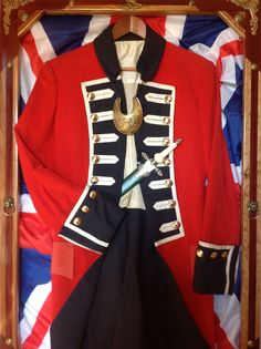 "Classic ""Red Coat"" British dress uniform jacket likely for India"