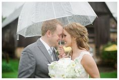 """Drops Fall Overhead as Kristy and Sean Say, 'I Do"""""""