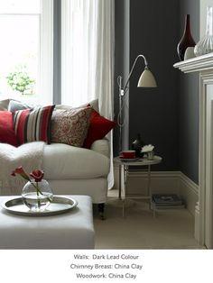 Dark Lead Colour - Grey Paint Colours - Neutral Paint Colours - Shop by Colour -  Greene Paint