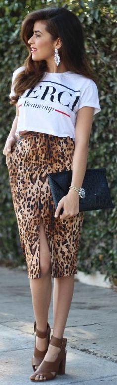 #Leopard And #Bling - OOTD by SpazMag