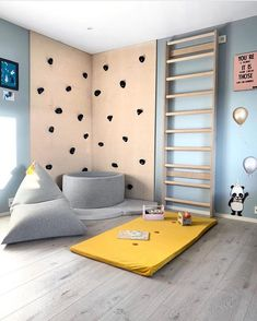Perfect personal room decoration for you baby! Creative Kids Rooms, Cool Kids Rooms, Childrens Room Decor, Baby Room Decor, Living Roon, Kids Play Spaces, Kids Room Organization, Kids Room Design, House Rooms