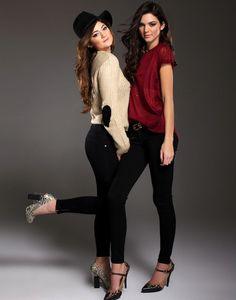 Kendall and Kylie Jenner - Modeling Together