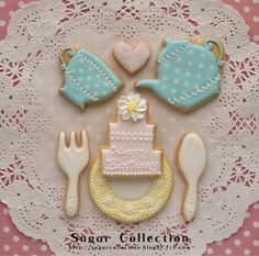 Tea time♡ by JILL's Sugar Collection, via Flickr
