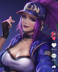 Drawing Girl Fantasy League Of Legends 15 Ideas For 2019 Lol League Of Legends, Akali League Of Legends, League Of Legends Characters, Fille Anime Cool, Cool Anime Girl, Anime Art Girl, Fantasy Characters, Female Characters, Neko Maid