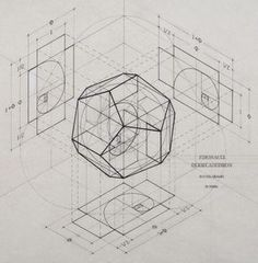 The Fibonacci spirals & the Phi Golden Ratio 1:1.618 inside the…