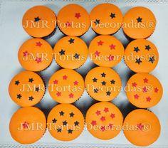 Torta y cupcakes Dragon Ball Z | JMR Tortas Decoradas
