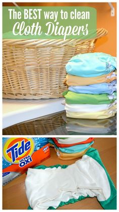How to Clean Cloth Diapers – Thrifty Nifty Mommy – Baby Ideas Cloth Diaper Detergent, Wash Cloth Diapers, Reusable Diapers, Newborn Diapers, Newborn Care, Diaper Babies, Baby Care Tips, Everything Baby, Baby Feeding