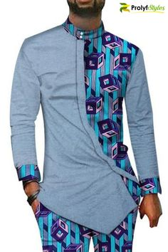 african style clothing Command the attention in this African Style Men's Suit Now you can add variations to your style when you include men's African attire in your wardrobe. African Male Suits, African Shirts For Men, African Dresses Men, African Attire For Men, African Clothing For Men, Latest African Fashion Dresses, African Men Fashion, African Wear, African Style