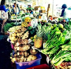 Fresh Produce at Hilo Farmers Market on the Big Island